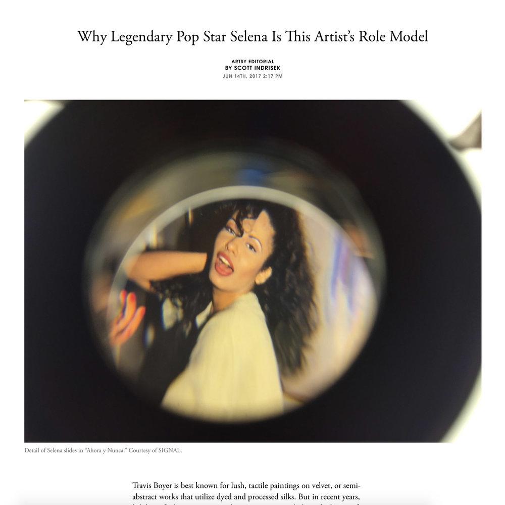 ARTSY  Signal Gallery  Ahora y Nunca  by Travis Boyer