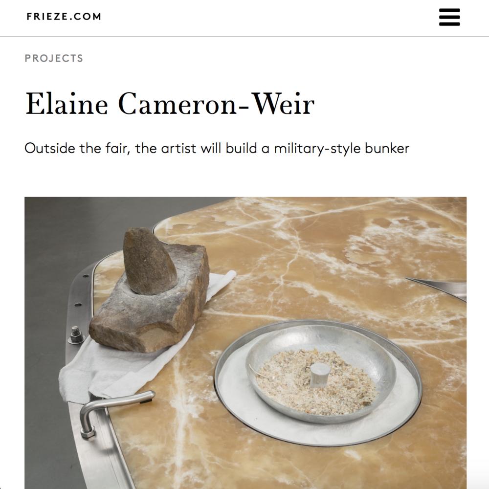 Frieze  Andrea Rosen  Erotix by Elaine Cameron-Weir