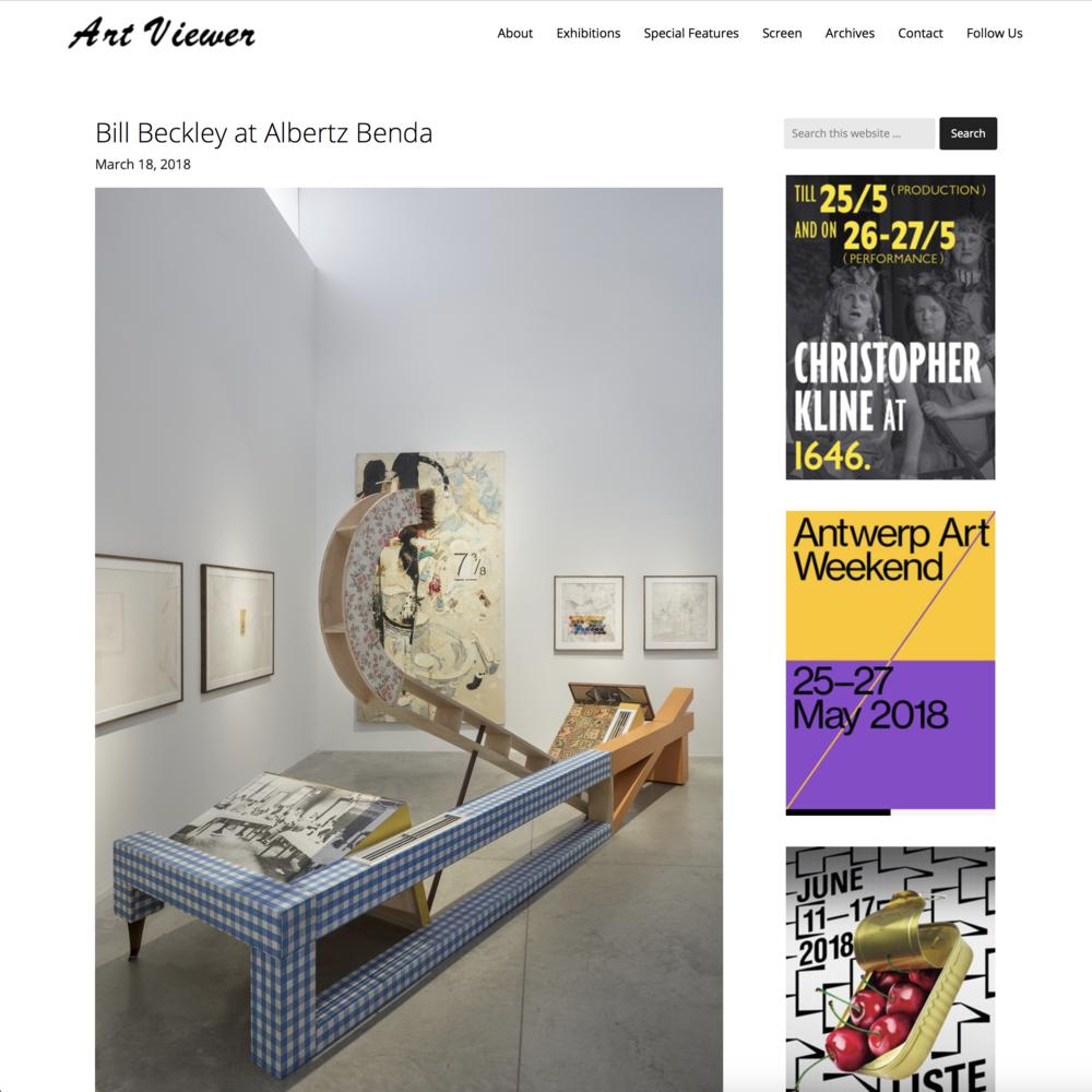 Art Viewer  Albertz Benda  After the Orgies: Bill Buckley
