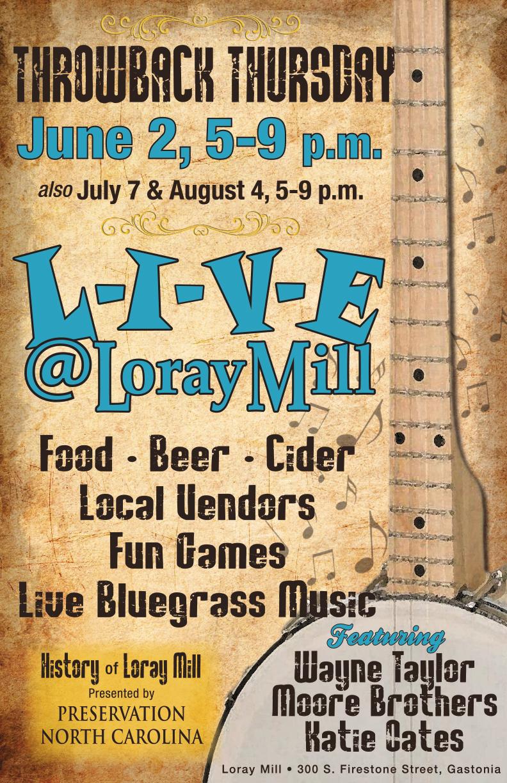 BluegrassLiveAtLorayPoster-05-11-16