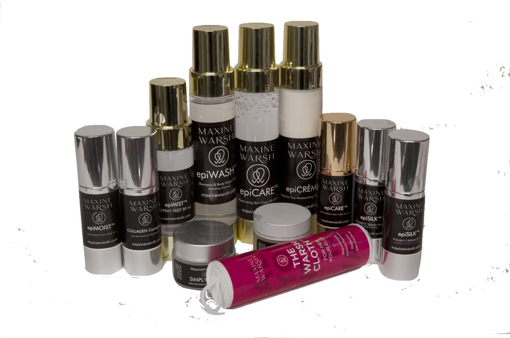 Natural skin care products from Maxine Warsh.