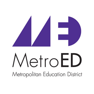 Copy of Metropolitan Education District logo