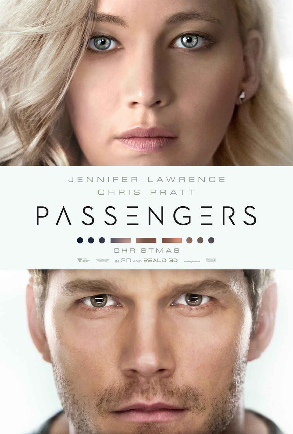Passengers starring Jennifer Lawrence and Chris Pratt, Photo Courtesy of Sony Pictures Entertainment