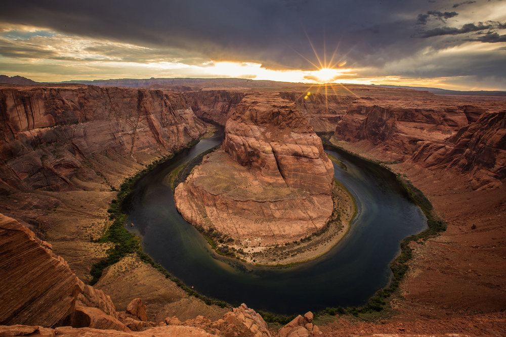 Over summer I wanted to get back to my first photography passion, landscapes. I took a trip out to Utah and Arizona for a week to capture all the national parks. It was a great trip just focusing on capturing God's creation. This image is of Horseshoe bend in Arizona. After seeing so many photos of this place I wanted my own. I spent two days here waiting for the right light and sunset and it paid off.