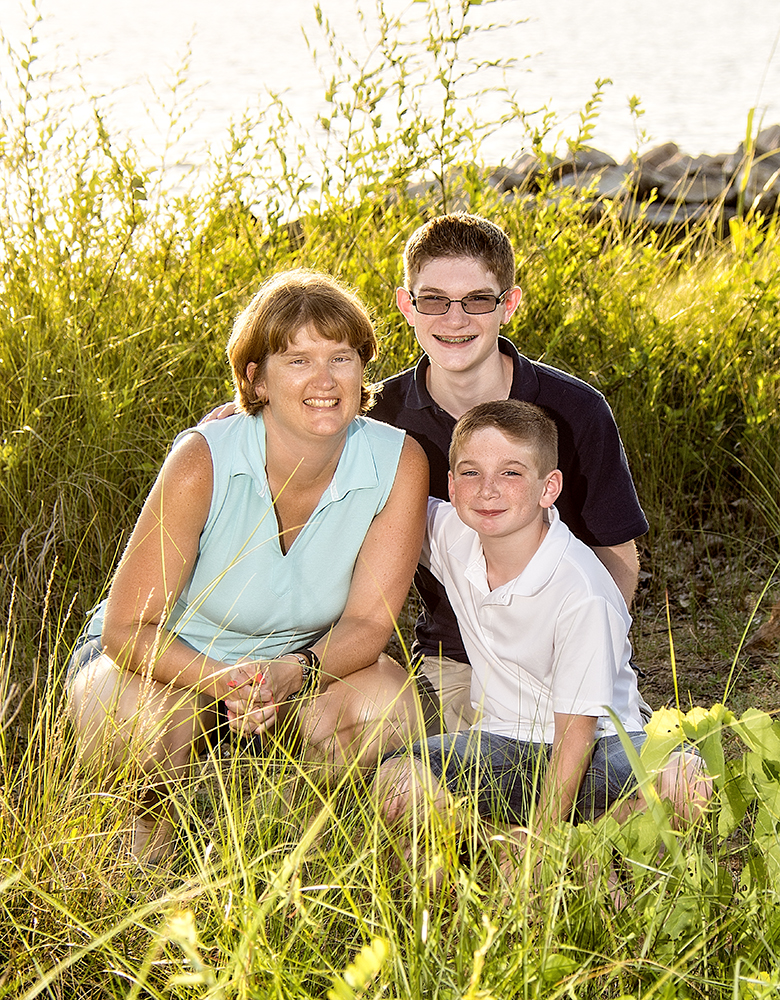 Family Portraits at Jonas Green Park in Annapolis, Maryland