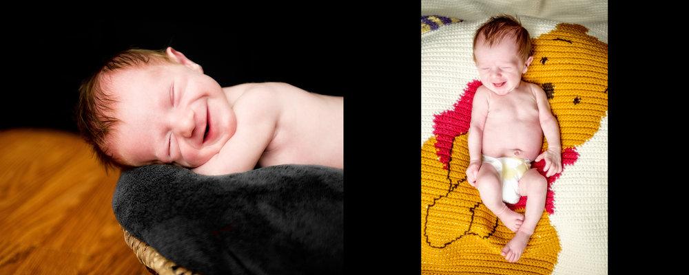 Newborn Portrait Heirloom Album