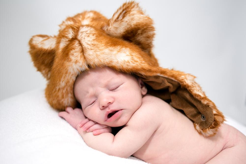 Newborn portraits in Baltimore Maryland