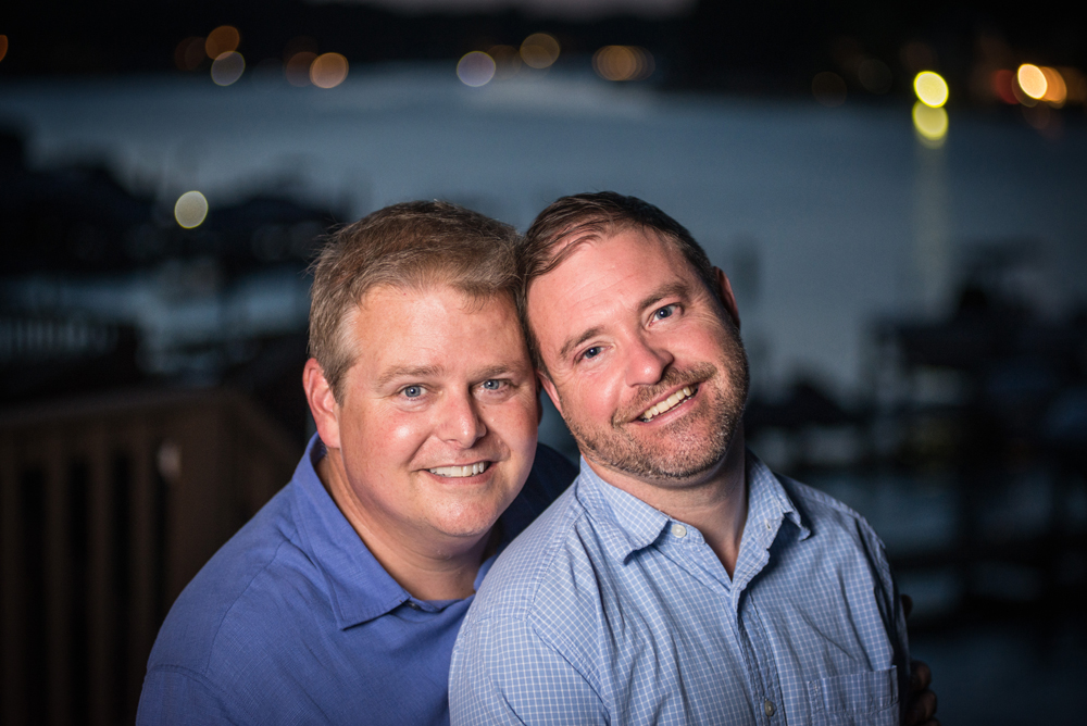 Gay engagement photography in Severna Park, MD