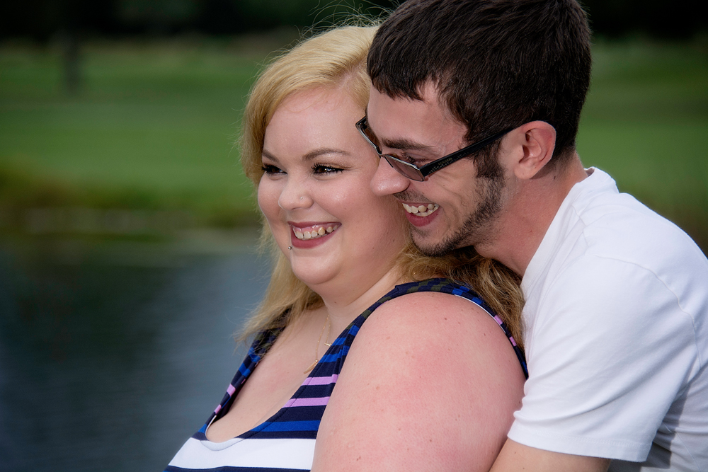 Engagement portraits at Turf Valley in Ellicott City, MD