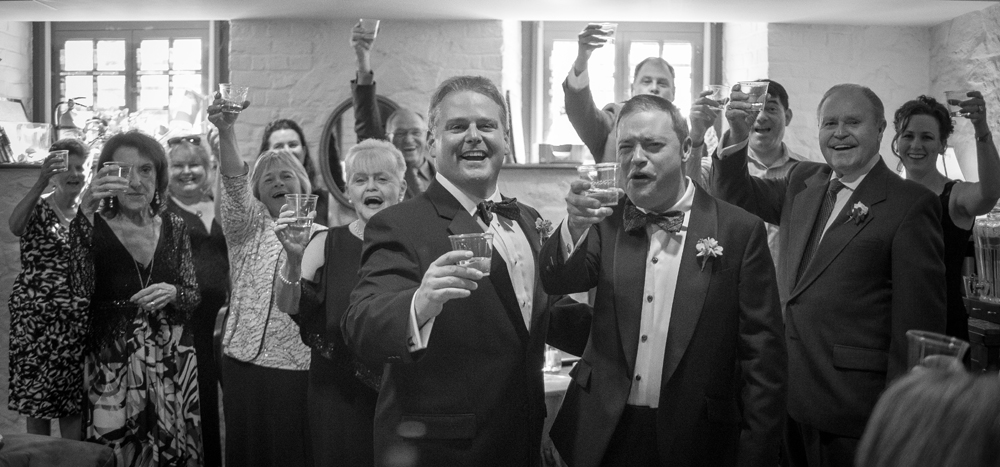 Gay Wedding at William Paca House in Annapolis, MD