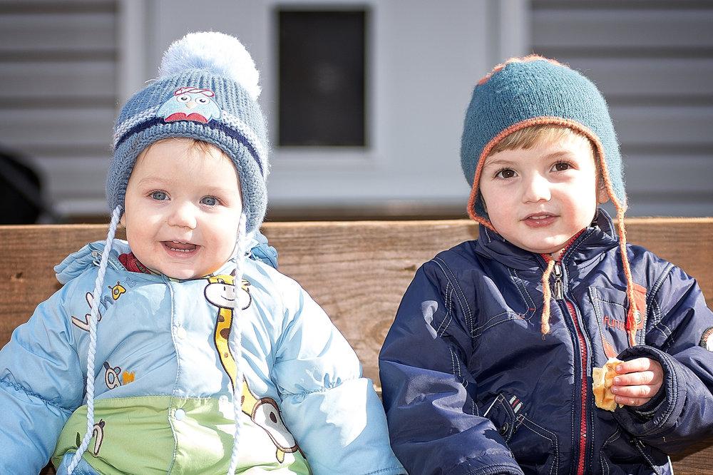 Braden (1), left, and Brandt (2).