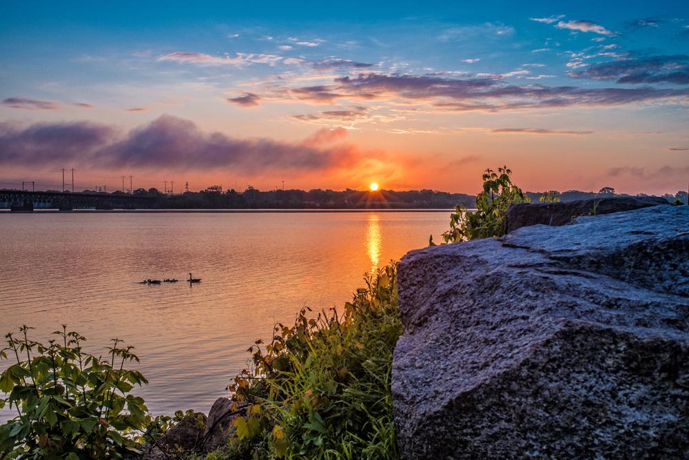 Havre De Grace Sunrise Landscape Fine Art