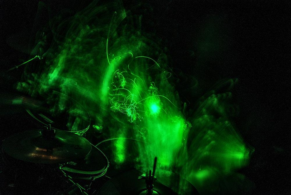 Rush' Spirit of Radio Light Painting