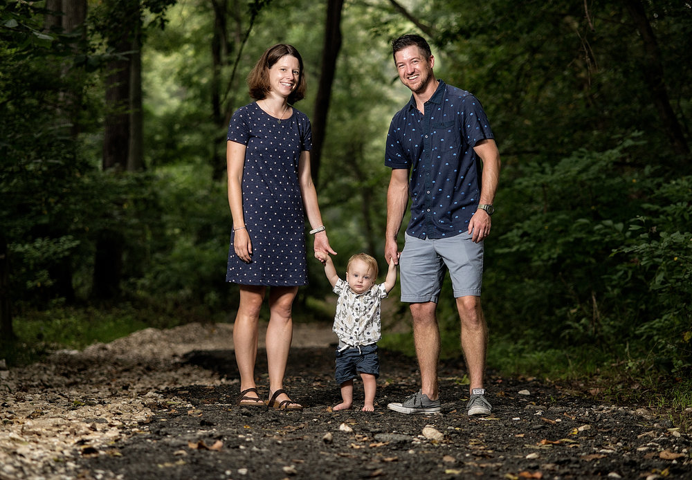 Family Portraits at Gunpowder Falls State Park