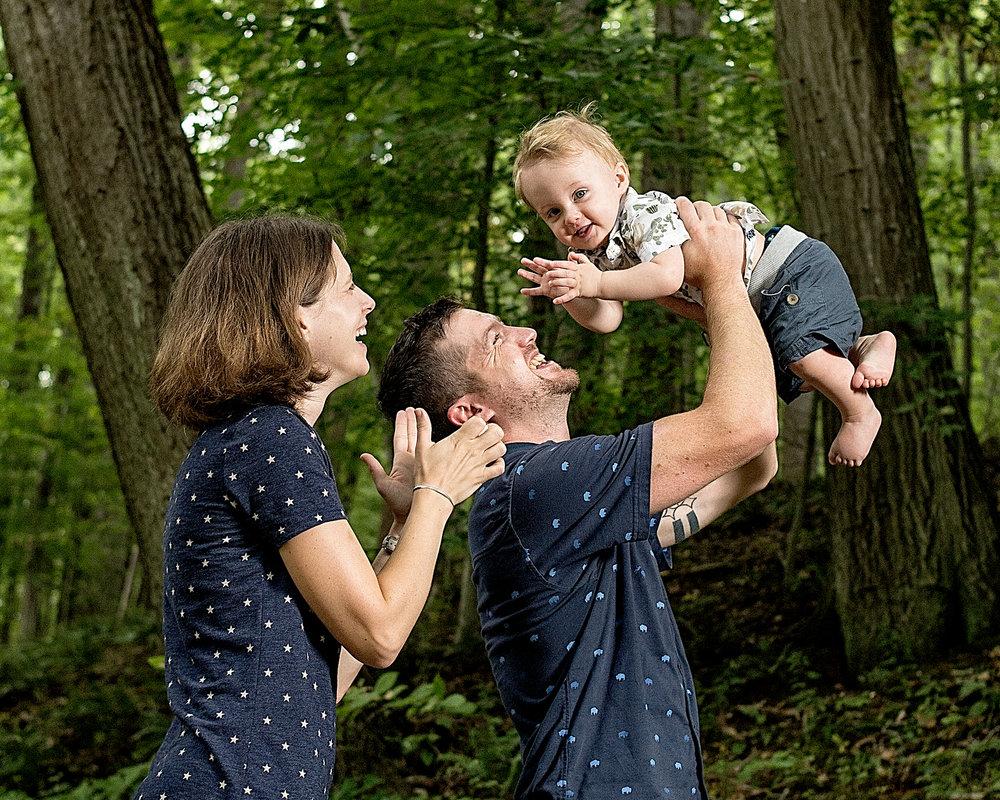 Family Portraits at Gunpowder Falls State Park