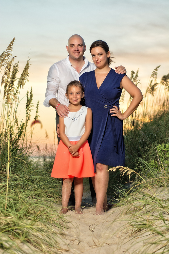 Valleau OBX Family Portraits