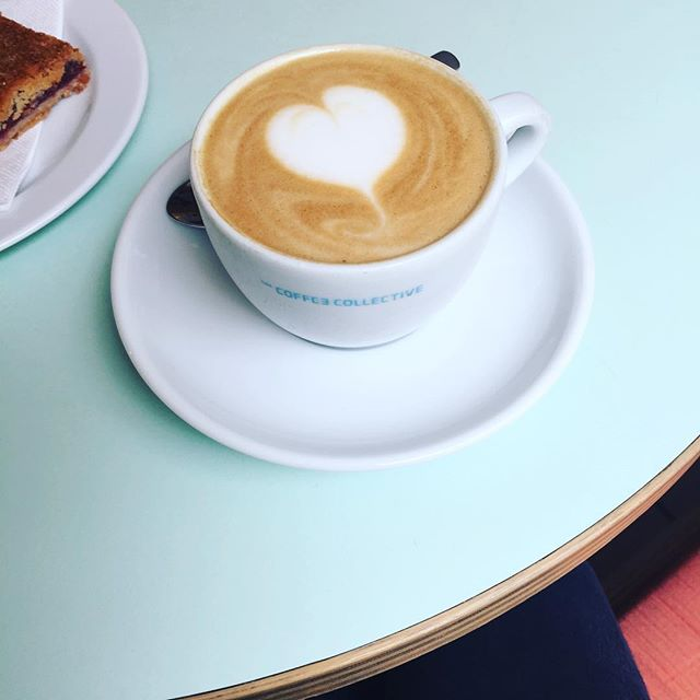 ALWAYS • a stop at the #coffeecollective when in #kbh . . . . #copenhagen #denmark #butfirstcoffee #cappuccino #cph #travel #nørrebro #københavn