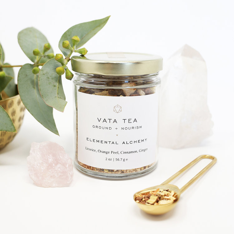 Vata Tea: Grounding + Warming