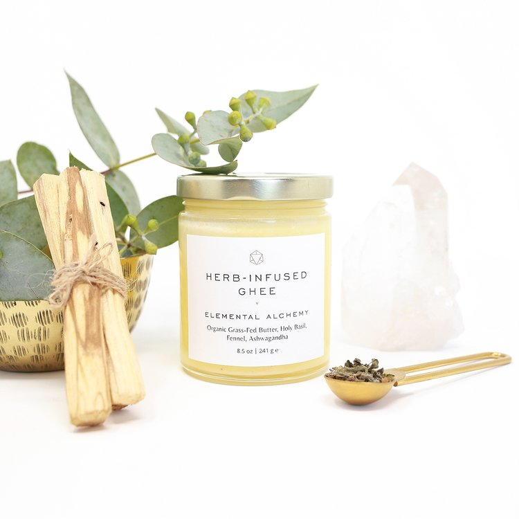 Herb-Infused Ghee