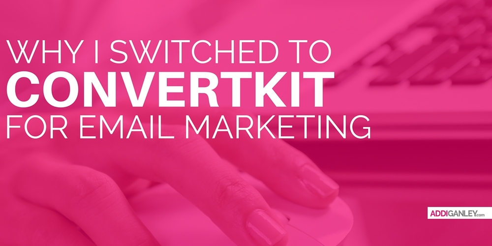 Not sure who to use for your blog or businesses email marketing? Find out why I switched to Converkit and how it has helped me to increase my subscribers and effectively grow my business.