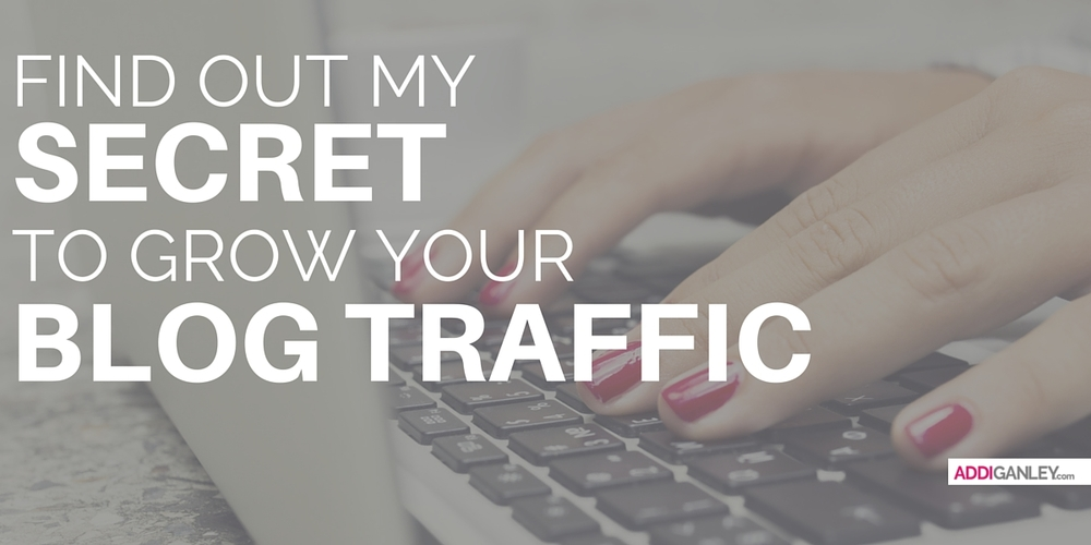 Want to increase blog traffic? Read my secret that will help you to increase your blog's traffic now.