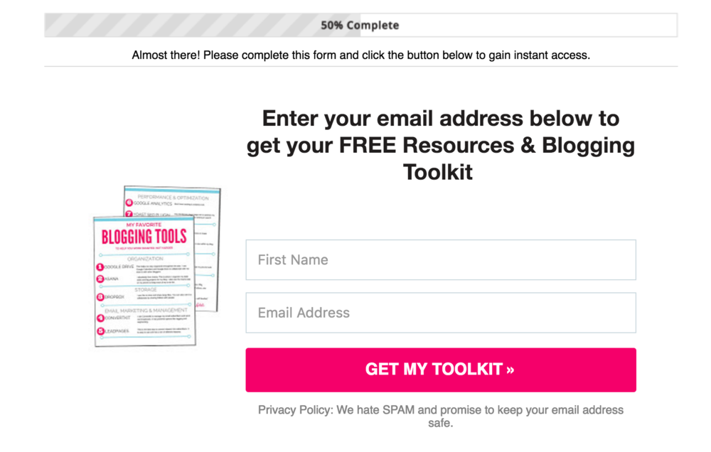 Find out the most effective opt-in you can create for your blog today to start building your email list. This will take you less than 20 minutes to make and will help you grow your list overnight.