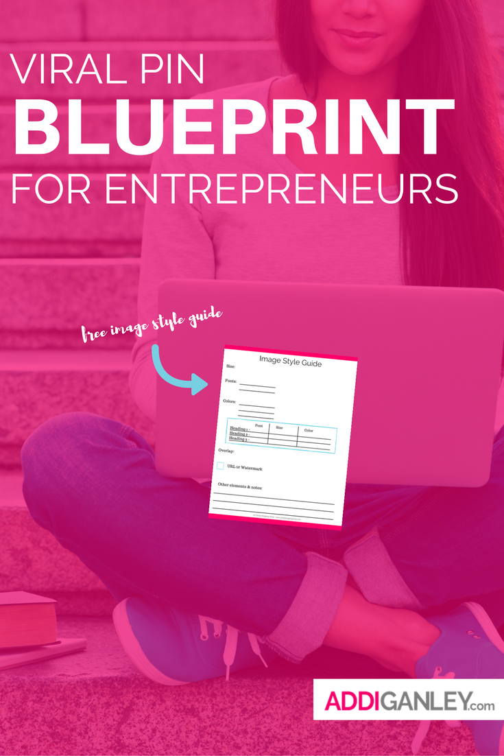 Pinterest is a powerful tool that will help you to grow your business, if used correctly. You need to create viral, pinnable images that are consistent with your brand for all of your content. Let me show you how to do this! Check out this viral pin blueprint for entrepreneurs…