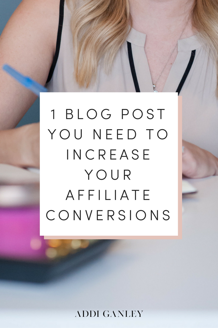 To be successful with affiliate marketing on your blog, you need your audience to trust you and want to purchase something that you recommend.