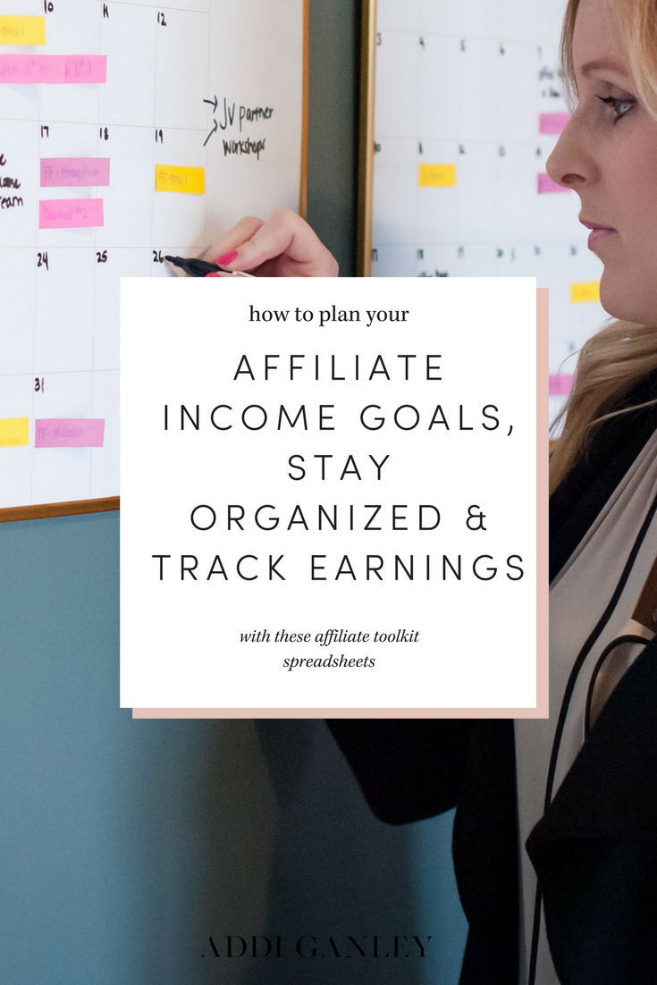 How much money are you earning from affiliate marketing? Do you need help keeping track of your monthly income so that you can adjust your strategies to earn more money? I've got the exact tracking tool you need…