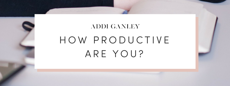 How productive are you? Time if one of the only resources that everyone has the same amount of. How you use it will play a vital role in your productivity. This is especially true for an entrepreneur who works from home and doesn't have a structured schedule. You have the freedom to make your own hours and decide how you spend your time, but are you being productive with it?