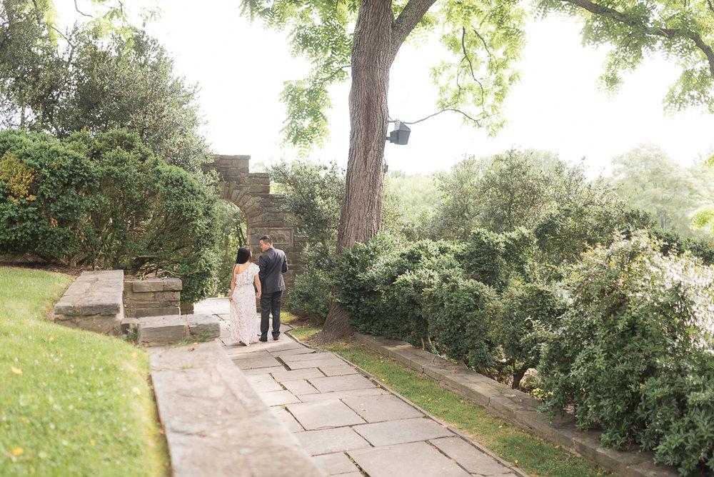 Glenview-Mansion-Engagement-Garden-Walking.jpg