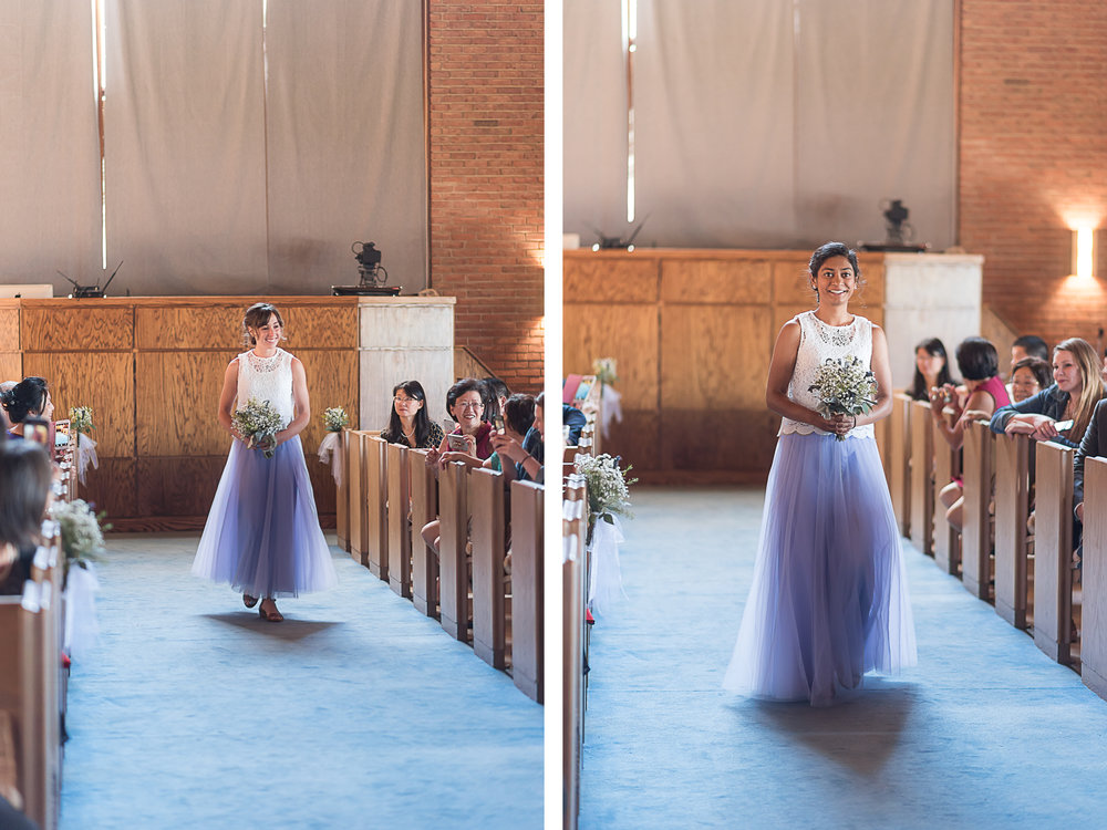 Elkridge-Furnace-Inn-Wedding-Ceremony-Provessional-Bridesmaids