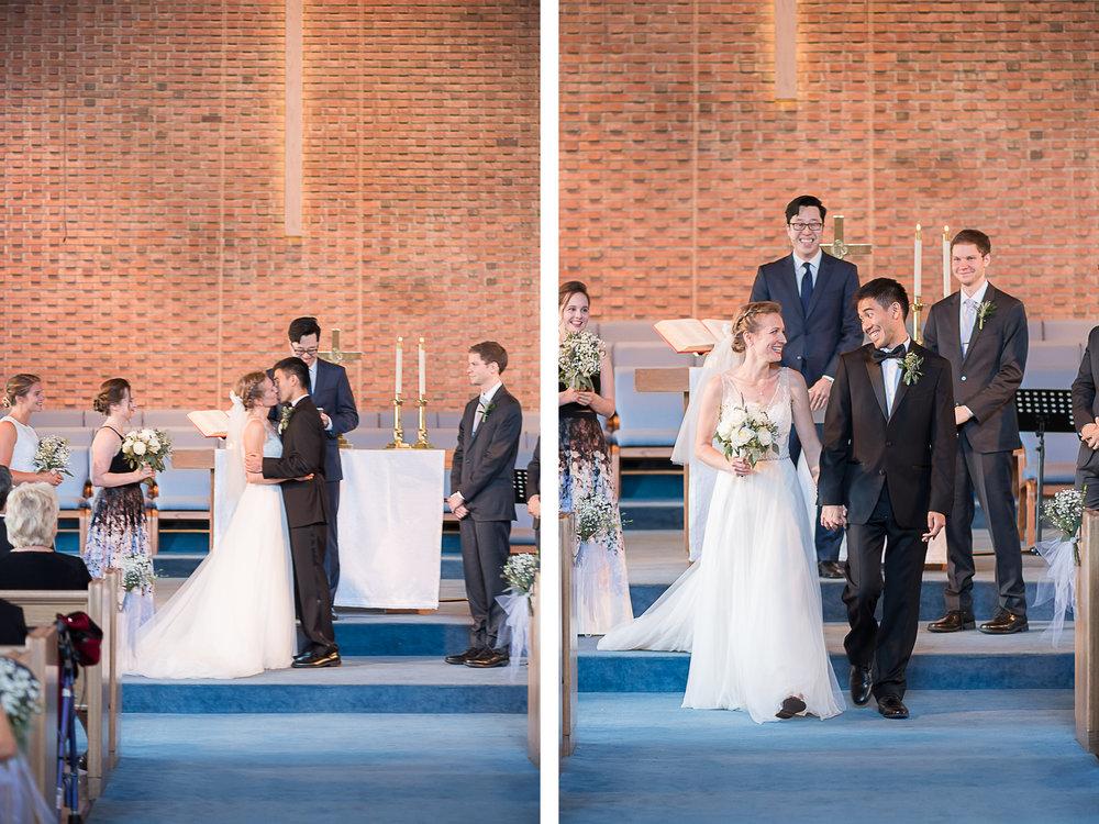 Elkridge-Furnace-Inn-Wedding-Ceremony-First-Kiss