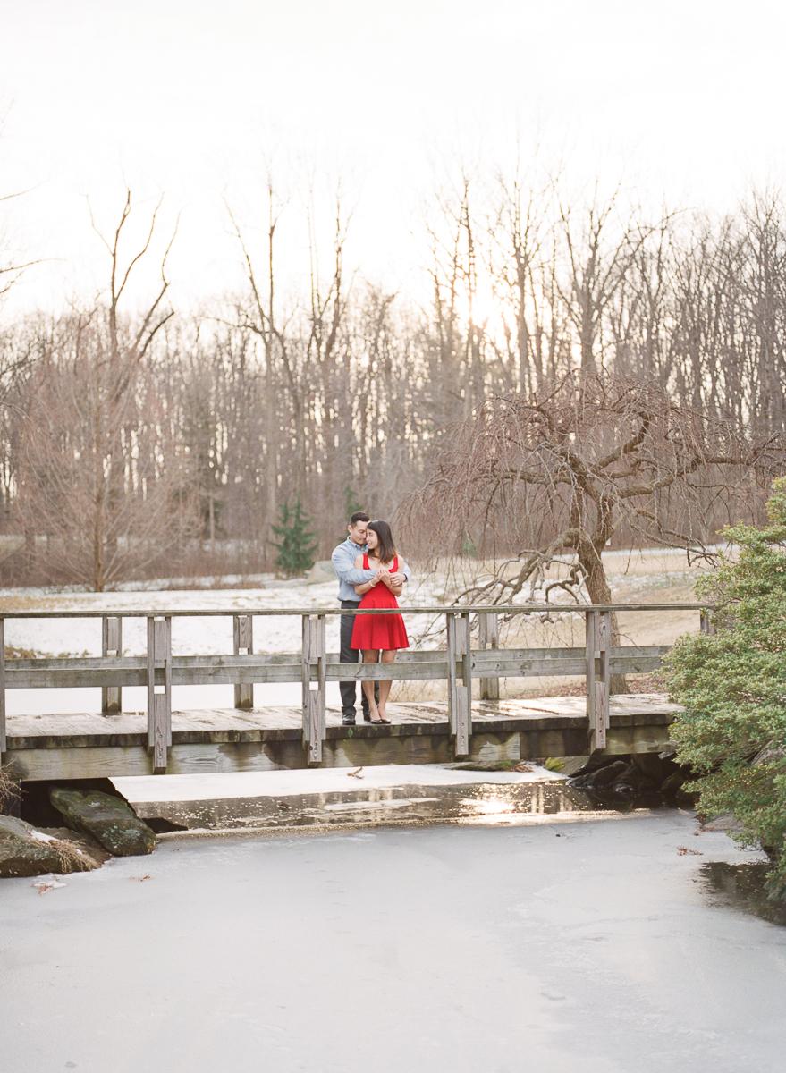 MD-Engagement-Brookside-Garden-Winter-Sunset-Session-22.jpg