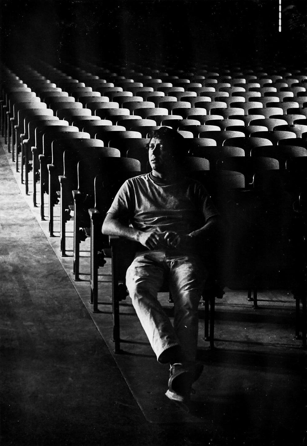 Charles Slater at Torrance High Auditorium