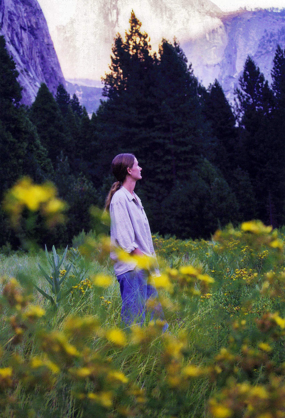 Susan Harlan Slater at Yosemite National Park