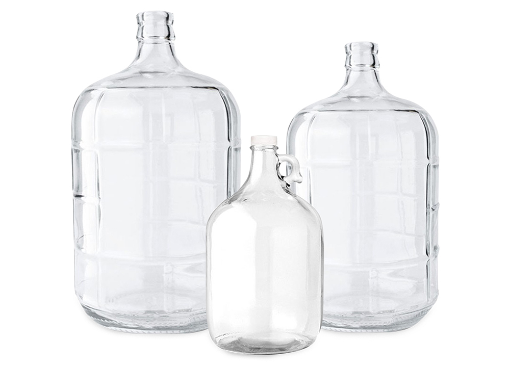 Glass Bottles - 1, 3, 5 Gallons