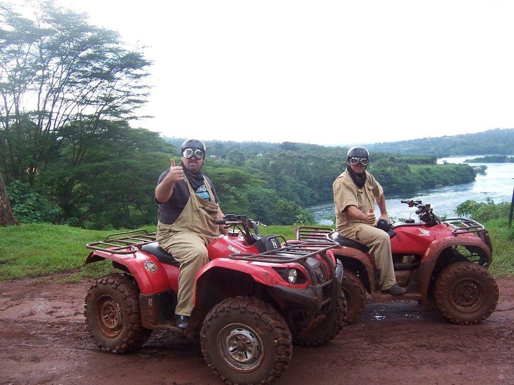 Hooning around in Uganda