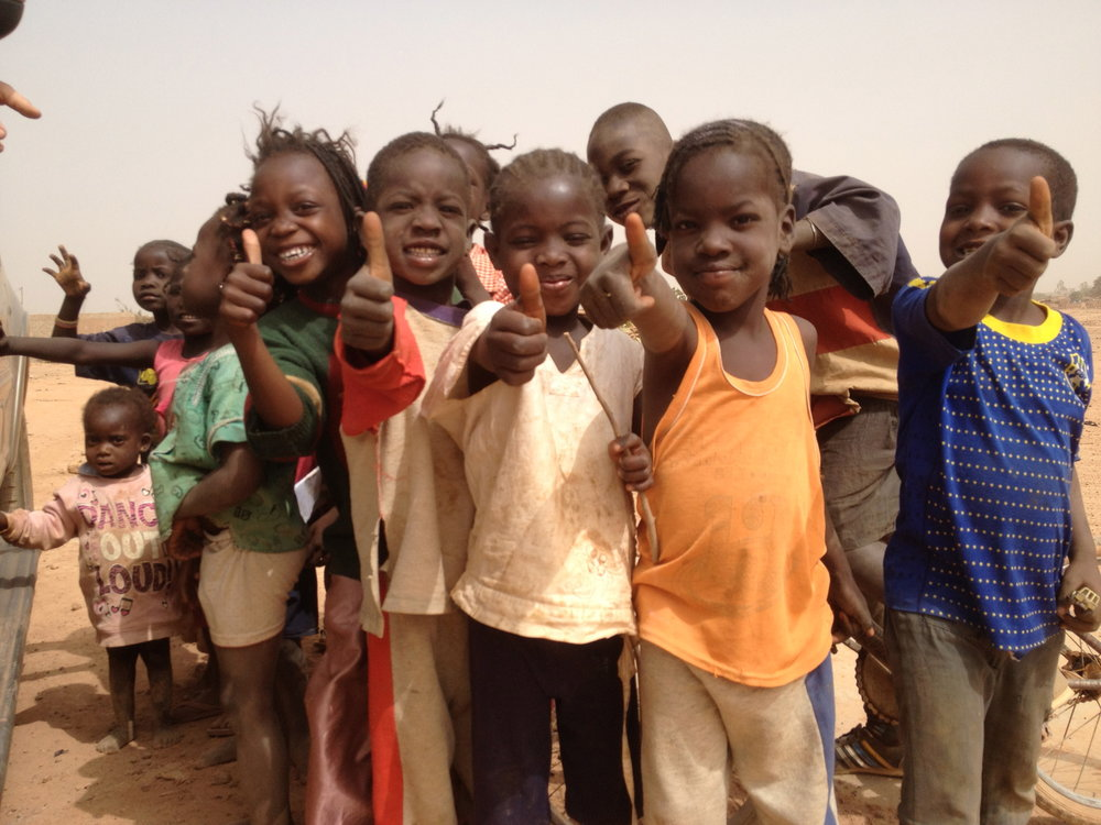 Kids in Burkina Faso