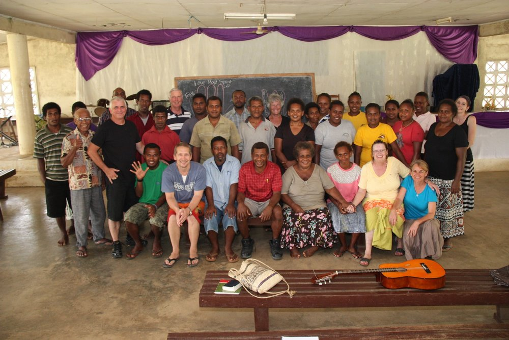 Encouraging leaders in the Solomon Islands