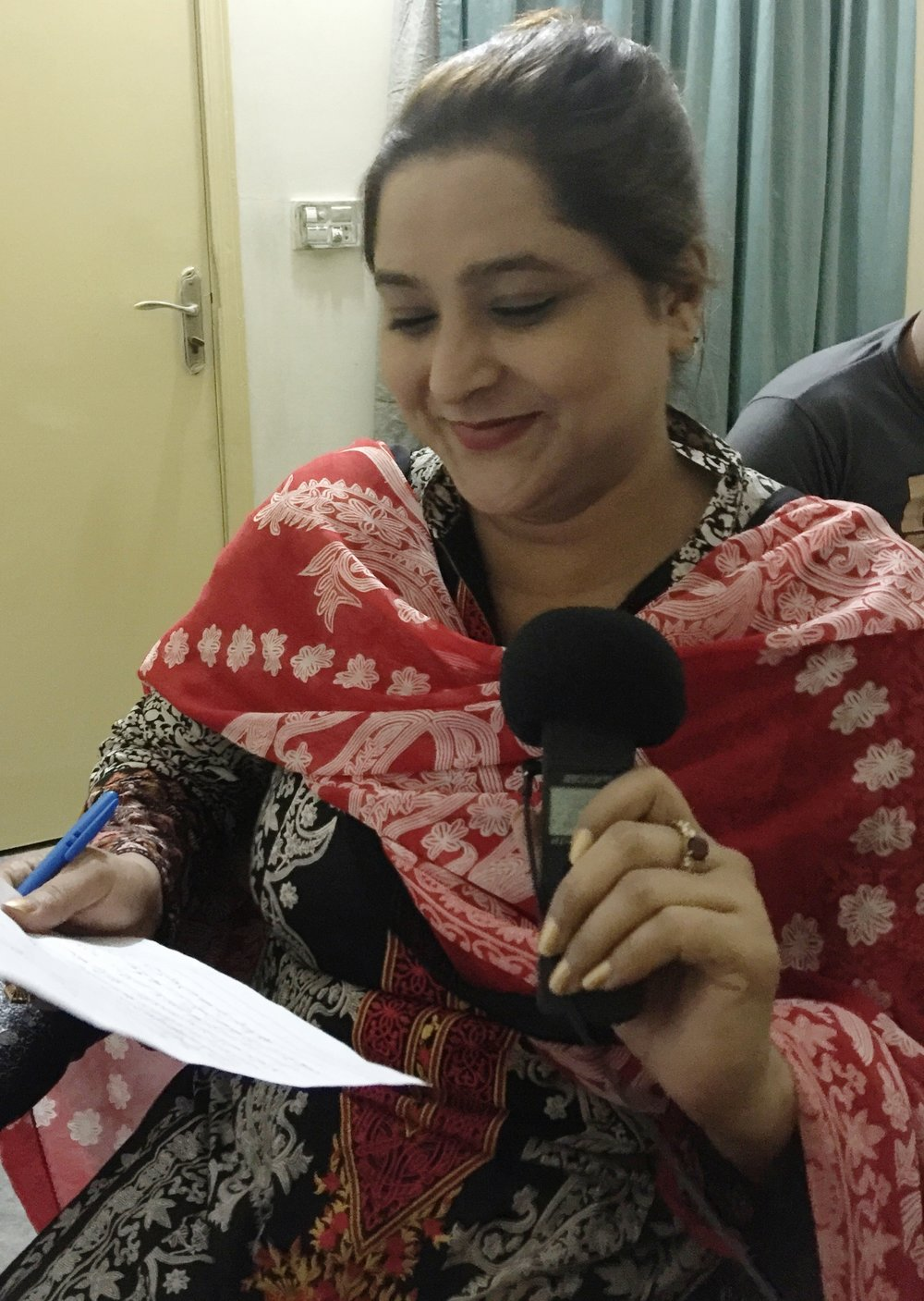 Urdu narration by Farzana.
