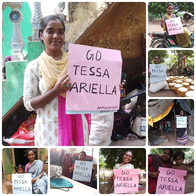 Don't forget that Tessa and Arielle are running in the Melbourne Marathon for Sewing the Seeds and are so close to reaching their goal!  Massive thank you to everyone who has donated.  If you haven't had the chance yet head over to the link in the bio to help us empower more women in India.