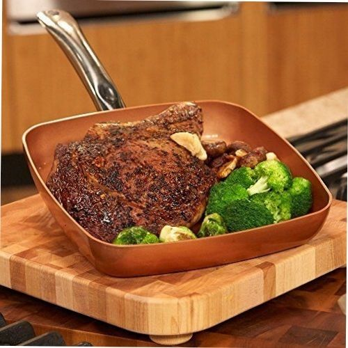 Not Just An Infomercial Gimmick... - These nonstick pans are durable, well constructed pans that are stove top and oven-safe and require less oil for healthy cooking and easy clean-up. We carry a myriad of shapes and sizes of fry pans, covered pots, cutlery and even a deep fryer.  Once you try one pan you'll be back for more.