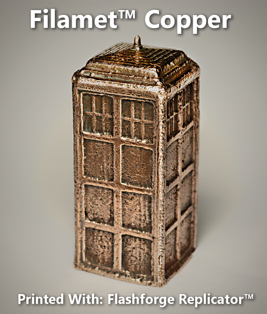 Pure Copper Tardis