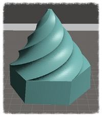 Swirly Cone Model