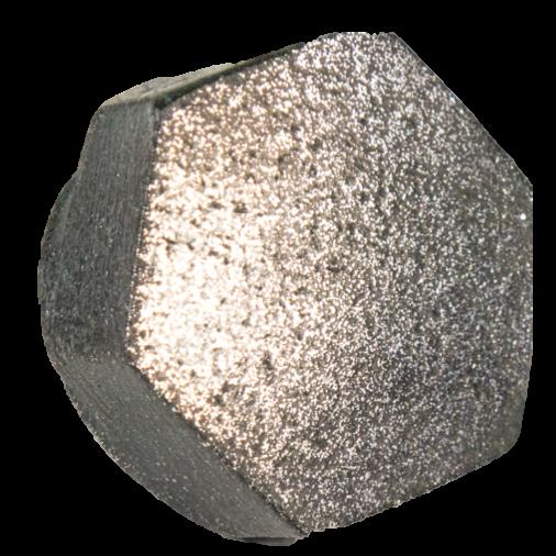High Carbon Iron Filament Metal Print