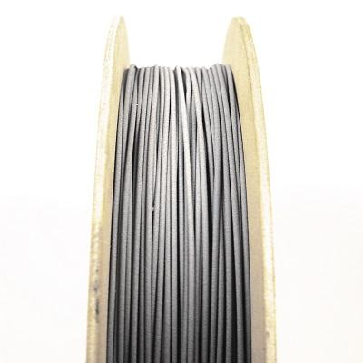 Aluminum Filament - Aluminum Filamet™ contains around 65% metal. Filamet™ enables any Fused Filament Fabrication printer to produce metal objects. Once fired in a kiln, the result is 100% metal.