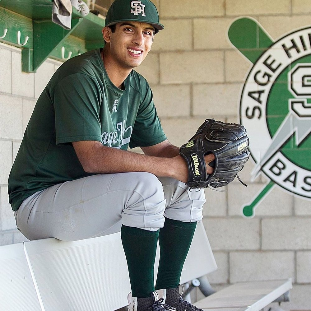 ASHWIN CHONA Sage Hill High School Athlete, Baseball VDA Class of 2015