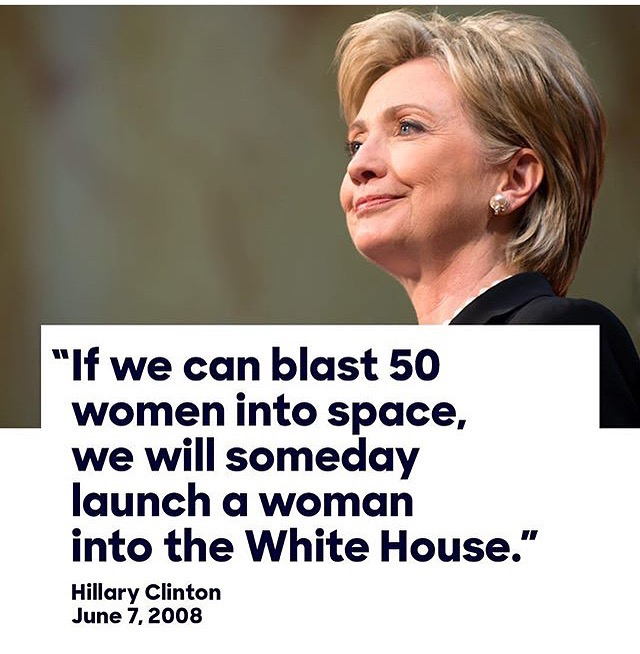 Via @hillaryclinton on Instagram