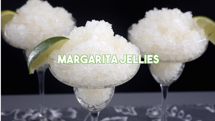 Margarita Jellies  via Tastemade
